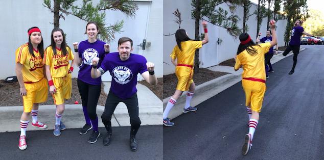 Core values - fun work environment - halloween costume contest