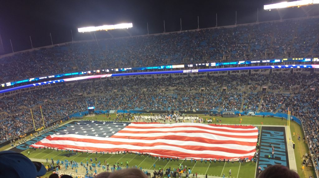 Life in Charlotte - Panthers game