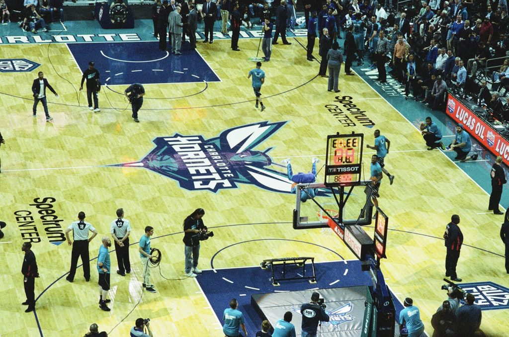 Life in charlotte - Hornets Game